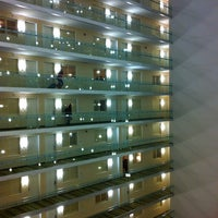 Photo taken at Embassy Suites by Hilton Chicago Downtown Magnificent Mile by Seulgi K. on 3/9/2013