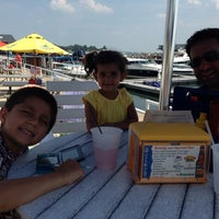 Photo taken at Dockers Waterfront Restaurant & Bar by Sahni's on 6/23/2013