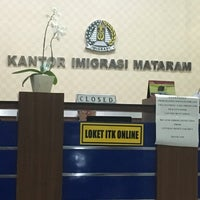 Photo taken at Kantor Imigrasi Mataram by Olivier B. on 8/22/2016