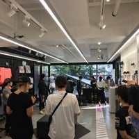 Photo taken at Nike+ Run Club Nakameguro by Soyoung K. on 4/20/2018