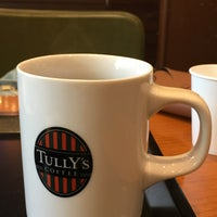 Photo taken at Tully's Coffee by Soyoung K. on 10/6/2017