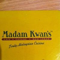 Photo taken at Madam Kwan's by RH on 12/8/2012