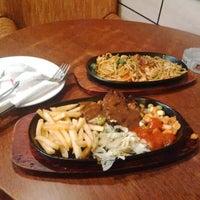 Photo taken at Gadeno New York Pizza & Steak by nasrip w. on 10/30/2014