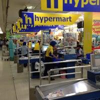 Photo taken at hypermart by Masahiro K. on 7/31/2016