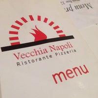 Photo taken at Pizzeria Vecchia Napoli by Andrea R. on 10/24/2013