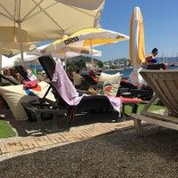 Photo taken at Artemis Beach by Yavuz G. on 7/11/2017