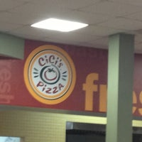 Photo taken at Cicis by Denise M. on 11/30/2012