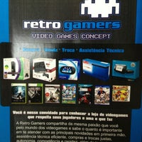 Photo taken at Retro Gamers: Video Games Concept by Thiago B. on 2/6/2013