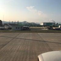 7/18/2018にのだなのだが岩国錦帯橋空港 1番搭乗口(Gate1)で撮った写真