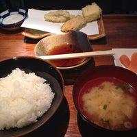 Photo taken at あげたて天ぷら 博多おかめ by のだなのだ on 11/4/2014