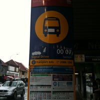 Photo taken at Bus Stop 208818 by Costanza P. on 1/27/2013