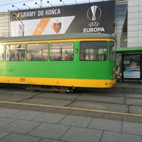 Photo taken at Przystanek Most Dworcowy by Agatka T. on 12/11/2015