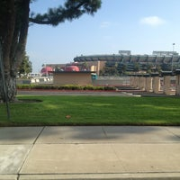 Photo taken at Angeles Stadium Legends Suite by CORYLAVEL on 7/22/2013