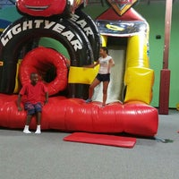 Photo taken at Bounce House Williamsburg by Robert W. on 7/22/2016