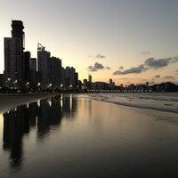 Photo taken at Praia Central de Balneário Camboriú by @juliogn on 4/21/2013