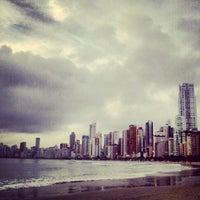 Photo taken at Praia Central de Balneário Camboriú by @juliogn on 1/9/2013