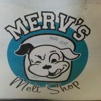 Photo taken at Merv's Melt Shop by Jim G. on 7/26/2014