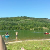 Photo taken at Happurger Stausee by Evgenia S. on 8/30/2015