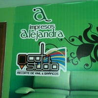 Photo taken at Impresos Alejandra by Mauro A. on 10/23/2012