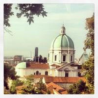 Photo taken at Castello di Brescia by Giovanni A. on 8/24/2013