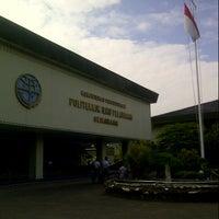 Photo taken at Politeknik Ilmu Pelayaran (PIP) Semarang by Yolanda O. on 6/18/2014