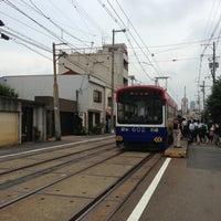 Photo taken at 上町線 北畠駅 by Shigekazu T. on 6/22/2013