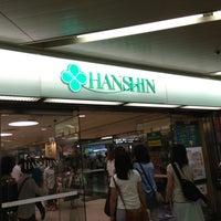 Photo taken at Hanshin Department Store by Shigekazu T. on 7/27/2013