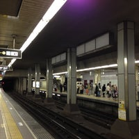 Photo taken at Midosuji Line Daikokucho Station (M21) by Shigekazu T. on 5/1/2013