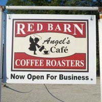 Photo taken at Red Barn Coffee At Angel's Cafe by Red Barn Coffee At Angel's Cafe on 7/21/2014