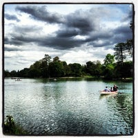 Photo taken at Lac Daumesnil by Sergio S. on 5/9/2013