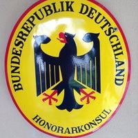 Photo taken at Consulado da Alemanha by Karl M. on 10/25/2013