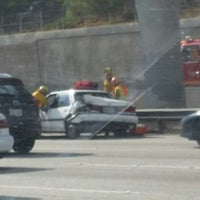 Photo taken at I-10 (San Bernardino Freeway) by Joseph K. on 9/16/2014