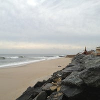 Photo taken at Karge Street Beach by Alex B. on 1/14/2013