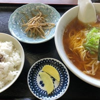 Photo taken at 木かげ by mori on 4/22/2018