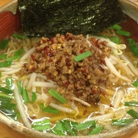 Photo taken at つけ麺 まぜ郎 ぎんや 砂田橋店 by mori on 4/26/2014