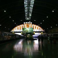 Photo taken at Bangkok Railway Station (SRT1001) by Brioso batty B. on 1/18/2013