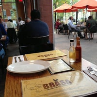 Photo taken at Brasa Premium Rotisserie by Brenda M. on 5/25/2013