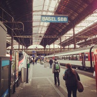 Photo taken at Basel SBB Railway Station by Ossi T. on 9/19/2013