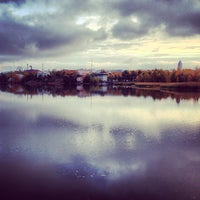 Photo taken at Töölönlahti / Tölöviken by Ossi T. on 10/9/2012