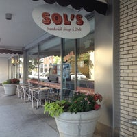 Photo taken at Sol's Deli by Jeff M. on 5/20/2014