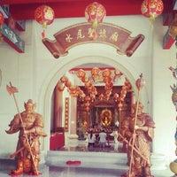 Photo taken at ศาลเจ้าแม่ทับทิม by It's Daniel K. on 6/15/2014