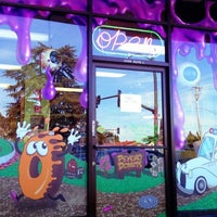 Photo taken at Psycho Donuts by Carlos A. on 11/11/2012