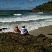 Photo taken at Cabarita Beach by Anthony I. on 4/14/2012