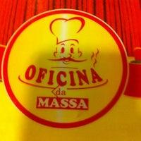 Photo taken at Oficina da Massa by Biato T. on 2/22/2012