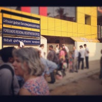 Photo taken at Foreigners Regional Registration Office by Nicolas M. on 3/22/2012