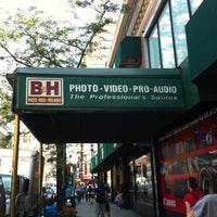 Photo taken at B&H Photo Video by Janice G. on 8/23/2012