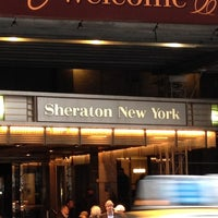Photo taken at Sheraton New York Times Square Hotel by Francesca C. on 3/31/2012