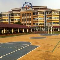 Photo taken at Sekolah Global Mandiri Cibubur by ipung on 5/12/2012
