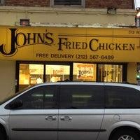 Photo taken at John's Fried Chicken by EL K. on 4/10/2012