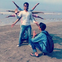 Photo taken at Juhu Beach Lifegaurds Association by Ashutosh K. on 12/15/2014